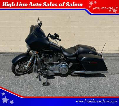 2017 Harley-Davidson FLHX for sale at High Line Auto Sales of Salem in Salem NH