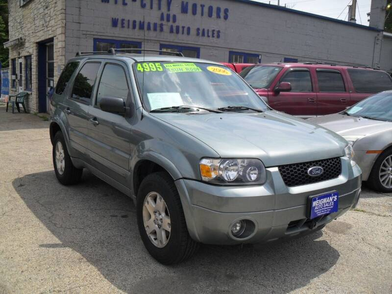 2006 Ford Escape for sale at Weigman's Auto Sales in Milwaukee WI