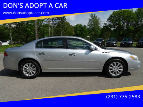 2011 Buick Lucerne for sale at DON'S ADOPT A CAR in Cadillac MI