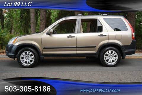 2006 Honda CR-V for sale at LOT 99 LLC in Milwaukie OR