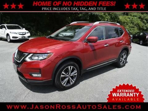 2017 Nissan Rogue for sale at Jason Ross Auto Sales in Burlington NC