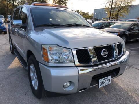 2007 Nissan Armada for sale at PRESTIGE AUTOPLEX LLC in Austin TX