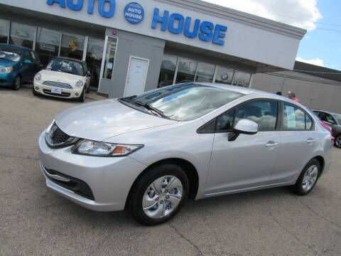 2013 Honda Civic for sale at Auto House Motors in Downers Grove IL