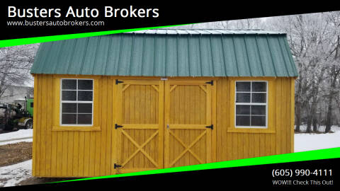 2020 Old Hickory Building 10 X 16 Side Lofted Barn for sale at Busters Auto Brokers in Mitchell SD