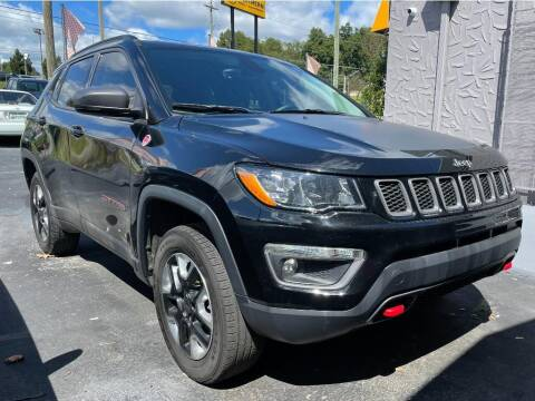 2017 Jeep Compass for sale at Ole Ben Franklin Motors Clinton Highway in Knoxville TN
