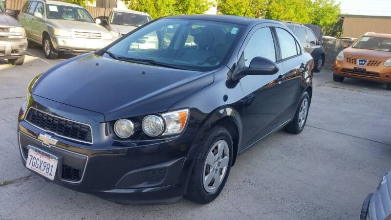 2014 Chevrolet Sonic for sale at Carspot Auto Sales in Sacramento CA