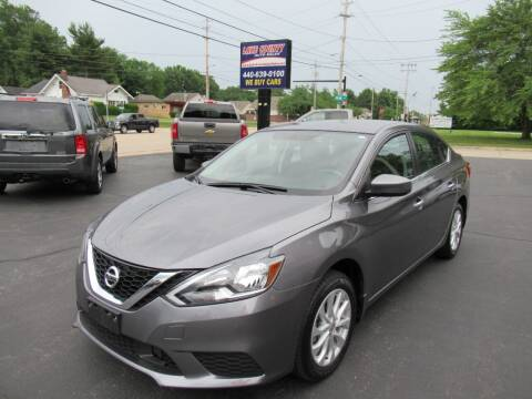 2018 Nissan Sentra for sale at Lake County Auto Sales in Painesville OH