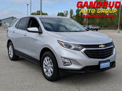 2021 Chevrolet Equinox for sale at Gandrud Dodge in Green Bay WI