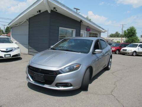 2015 Dodge Dart for sale at Crown Auto in South Salt Lake UT