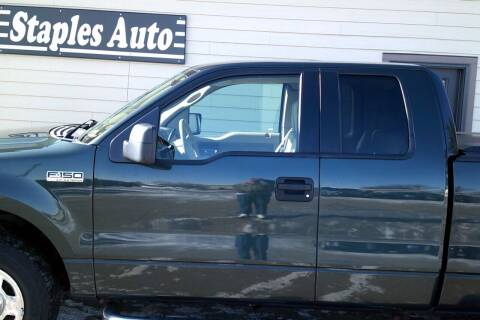 2006 Ford F-150 for sale at STAPLES AUTO SALES in Staples MN
