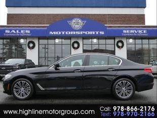 2018 BMW 5 Series for sale at Highline Group Motorsports in Lowell MA