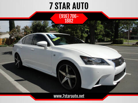 2013 Lexus GS 350 for sale at 7 STAR AUTO in Sacramento CA