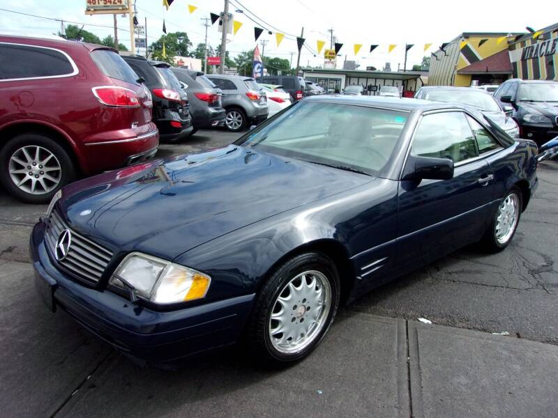 1996 Mercedes-Benz SL-Class for sale at MIRACLE AUTO SALES in Cranston RI