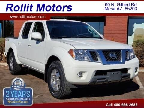 2013 Nissan Frontier for sale at Rollit Motors in Mesa AZ