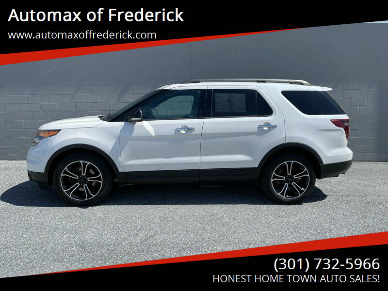 2014 Ford Explorer for sale at Automax of Frederick in Frederick MD