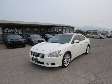 2012 Nissan Maxima for sale at Central Auto in South Salt Lake UT