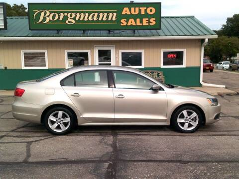 2013 Volkswagen Jetta for sale at Borgmann Auto Sales in Norfolk NE