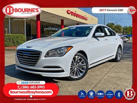 2017 Genesis G80 for sale at Bourne's Auto Center in Daytona Beach FL
