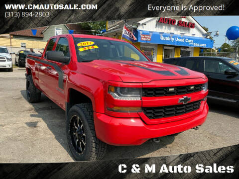 2017 Chevrolet Silverado 1500 for sale at C & M Auto Sales in Detroit MI