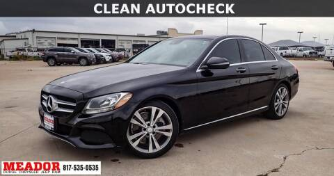 2017 Mercedes-Benz C-Class for sale at Meador Dodge Chrysler Jeep RAM in Fort Worth TX