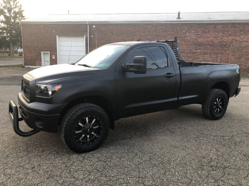 2007 Toyota Tundra for sale at Jim's Hometown Auto Sales LLC in Byesville OH