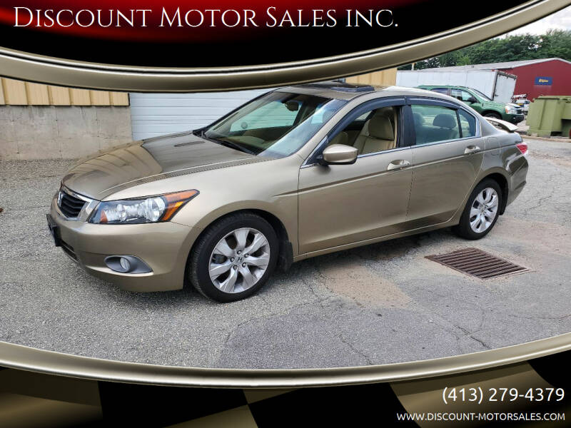 2010 Honda Accord for sale at Discount Motor Sales inc. in Ludlow MA
