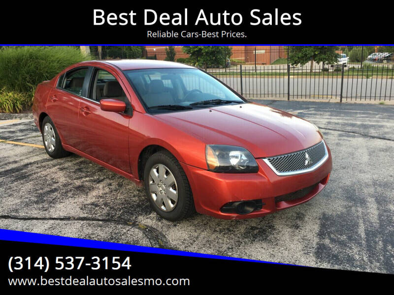 2011 Mitsubishi Galant for sale at Best Deal Auto Sales in Saint Charles MO