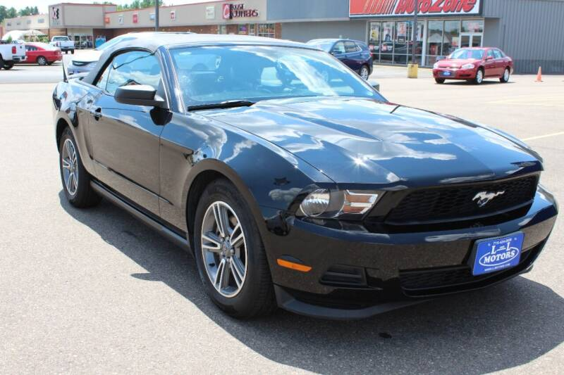 2012 Ford Mustang for sale at L & L MOTORS LLC - REGULAR INVENTORY in Wisconsin Rapids WI