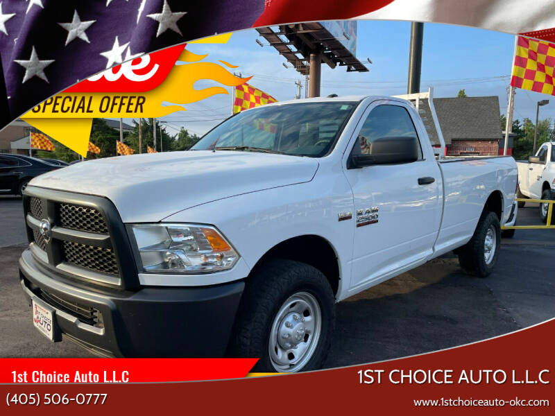 2018 RAM Ram Pickup 2500 for sale at 1st Choice Auto L.L.C in Oklahoma City OK