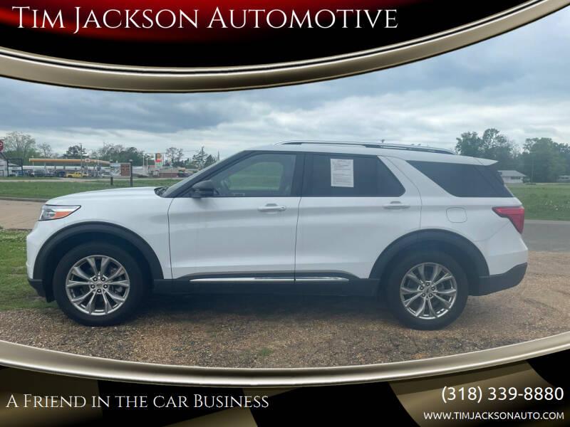 2020 Ford Explorer for sale at Tim Jackson Automotive in Jonesville LA