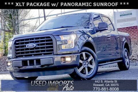 2016 Ford F-150 for sale at Used Imports Auto in Roswell GA
