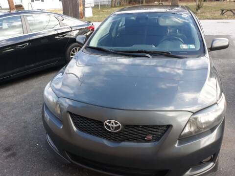 2009 Toyota Corolla for sale at GALANTE AUTO SALES LLC in Aston PA