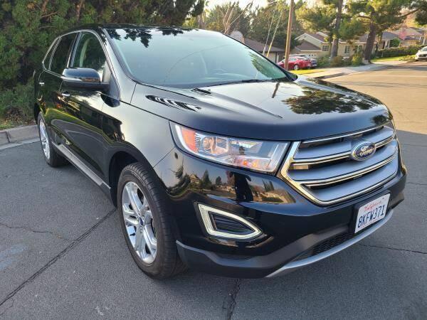 2018 Ford Edge for sale at CAR CITY SALES in La Crescenta CA