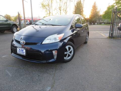 2012 Toyota Prius for sale at KAS Auto Sales in Sacramento CA
