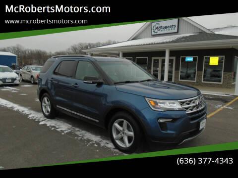 2018 Ford Explorer for sale at McRobertsMotors.com in Warrenton MO