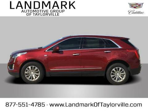 2018 Cadillac XT5 for sale at LANDMARK OF TAYLORVILLE in Taylorville IL