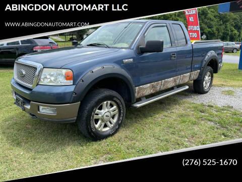 2004 Ford F-150 for sale at ABINGDON AUTOMART LLC in Abingdon VA