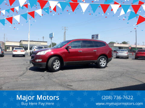 2011 Chevrolet Traverse for sale at Major Motors in Twin Falls ID