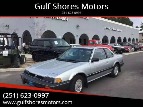1984 Honda Prelude for sale at Gulf Shores Motors in Gulf Shores AL