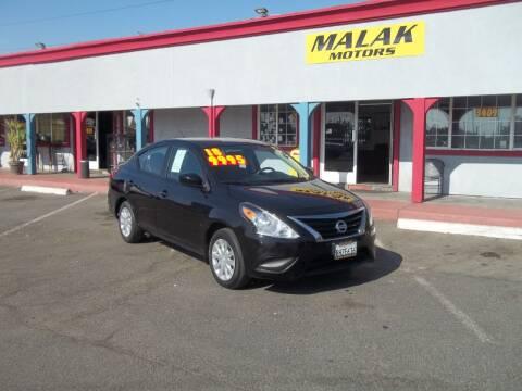 2018 Nissan Versa for sale at Atayas Motors INC #1 in Sacramento CA