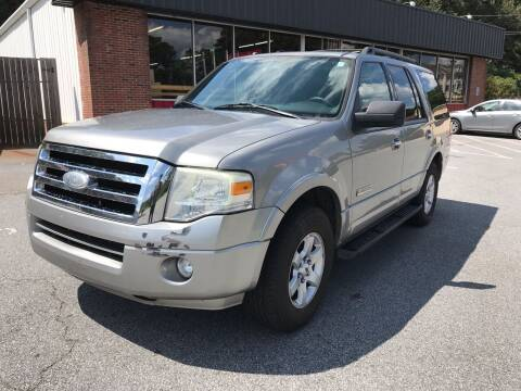 2008 Ford Expedition for sale at CAR STOP INC in Duluth GA
