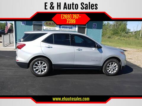 2018 Chevrolet Equinox for sale at E & H Auto Sales in South Haven MI