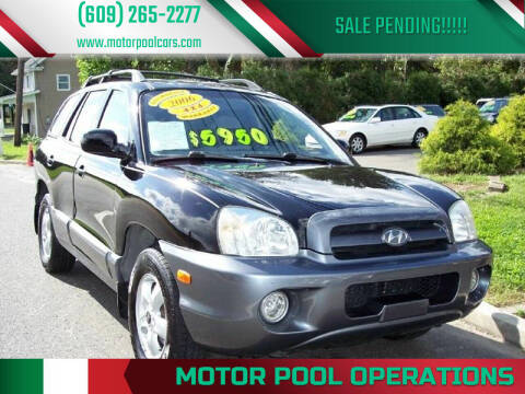 2006 Hyundai Santa Fe for sale at Motor Pool Operations in Hainesport NJ