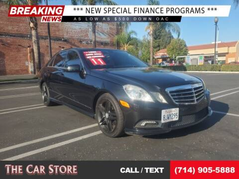 2011 Mercedes-Benz E-Class for sale at The Car Store in Santa Ana CA