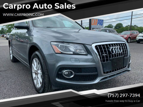 2012 Audi Q5 for sale at Carpro Auto Sales in Chesapeake VA