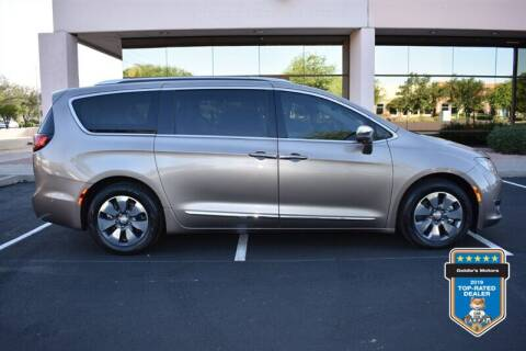 2018 Chrysler Pacifica Hybrid for sale at GOLDIES MOTORS in Phoenix AZ