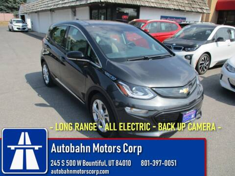 2017 Chevrolet Bolt EV for sale at Autobahn Motors Corp in Bountiful UT