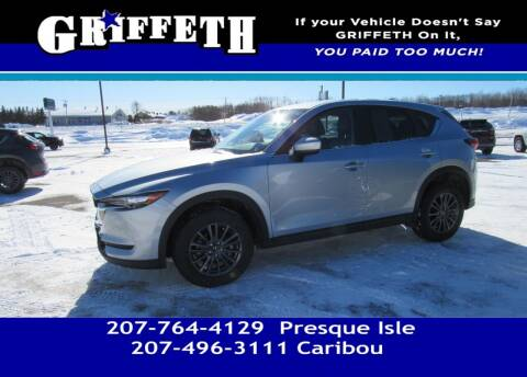 2020 Mazda CX-5 for sale at Griffeth Mitsubishi - Pre-owned in Caribou ME