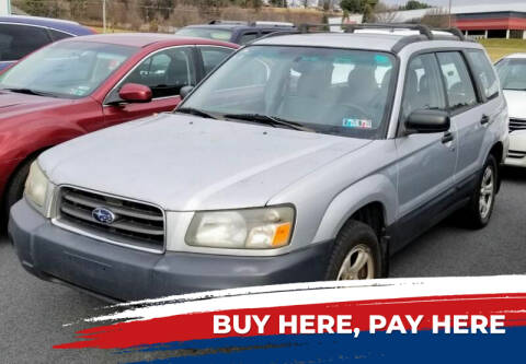 2005 Subaru Forester for sale at Lancaster Auto Detail & Auto Sales in Lancaster PA
