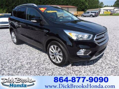 2017 Ford Escape for sale at DICK BROOKS PRE-OWNED in Lyman SC